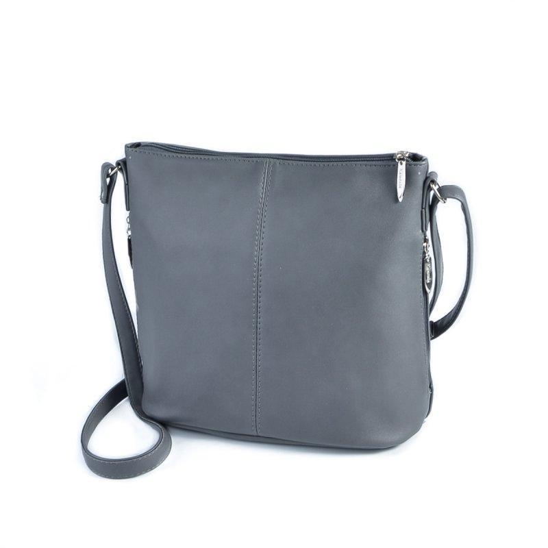 de57162976e2 Женская сумка через плечо Серая ручной работы купить в Украине. №388928