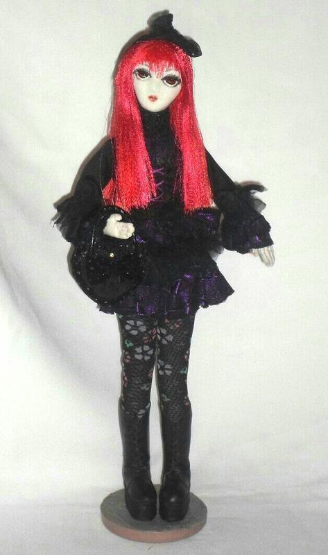 Аниме-кукла готическая лолита №36228 - купить в Украине на Crafta.ua