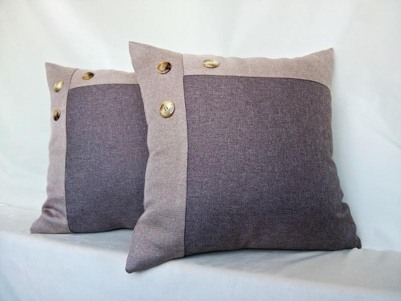 Диванные подушки, декоративные,интерьерные,комплект 2 шт.