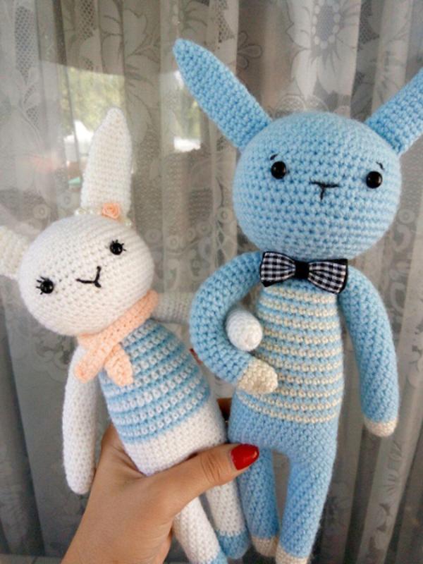 Влюбленные зайчики! Идеальный подарок для любимого человека!