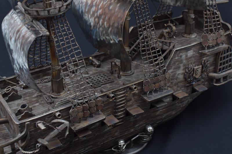 """корабель з нержавіючої сталі """"Рейнджер"""""""