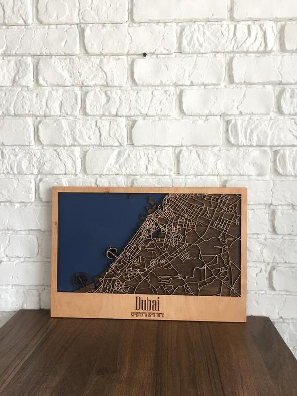 Объемная карта города 3dUrbanMap