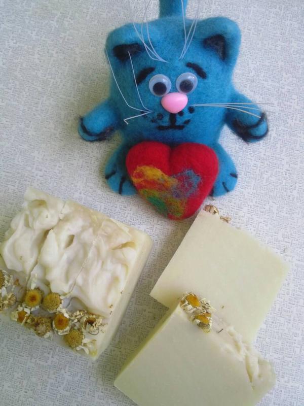 Натуральное мыло с нуля .Ромашка (детское)