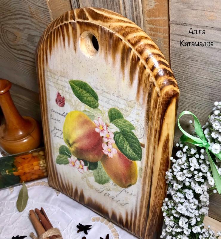Разделочная доска «Яблочная»