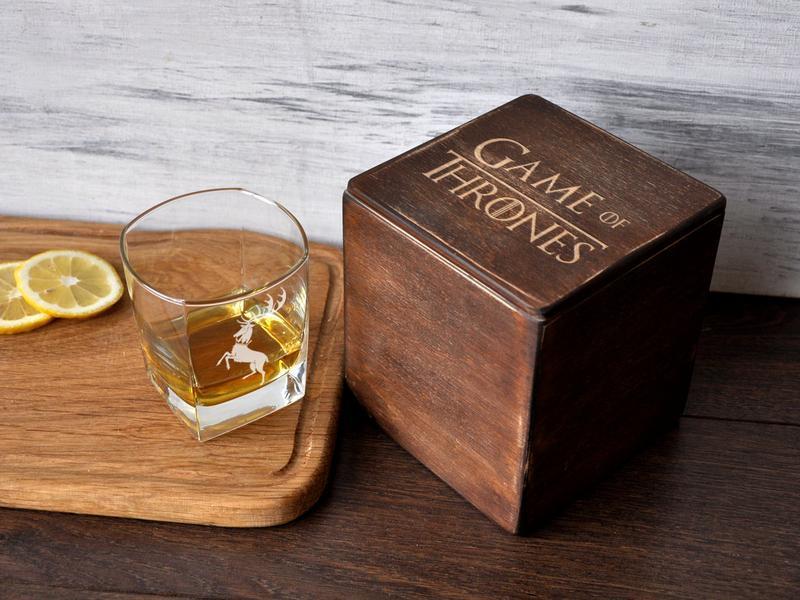 Набор стаканов для виски с гравировкой «Игра Престолов»