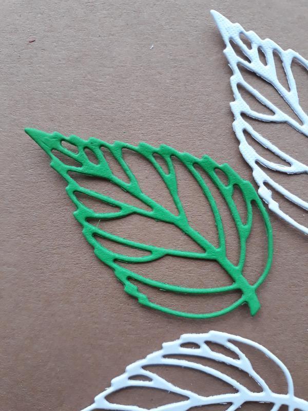Вырубка для скрапбукинга листик 1, декор для скрапбукинга, высечки для скрапбукинга