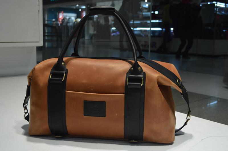 044b44bac069 Трансформер кожаная сумка - рюкзак Sport & Travel DS ручной работы ...