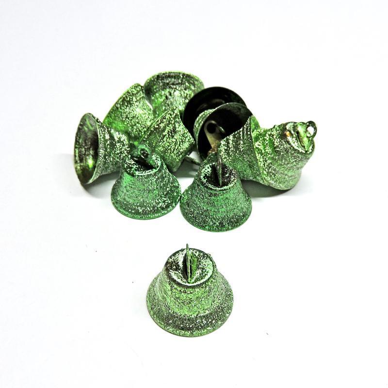 Колокольчик Искра 18мм зелёный