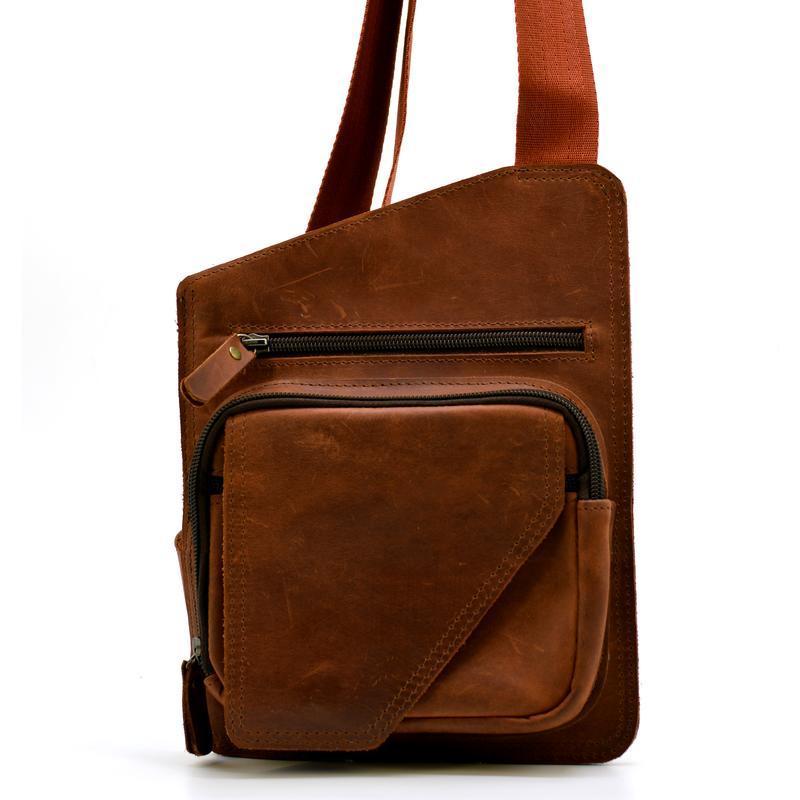 fe3d36eb5673 Мужская сумка через плечо, кобура, рюкзак на одно плечо TARWA RB-232-3md