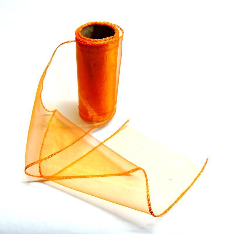 Органза 12см оранжевая