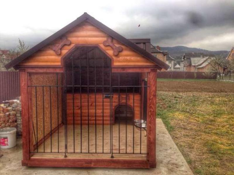 Домики для собак из фанеры