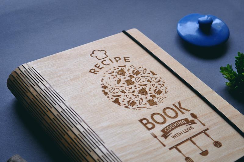 "Кулинарная книга / Книга для рецептов ""Recipe Book. Cooking with love"""
