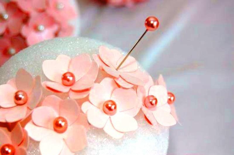 Белые Булавки портновские с шариком, швейные булавки 480 шт цена за 12 пластинок по 40 шт