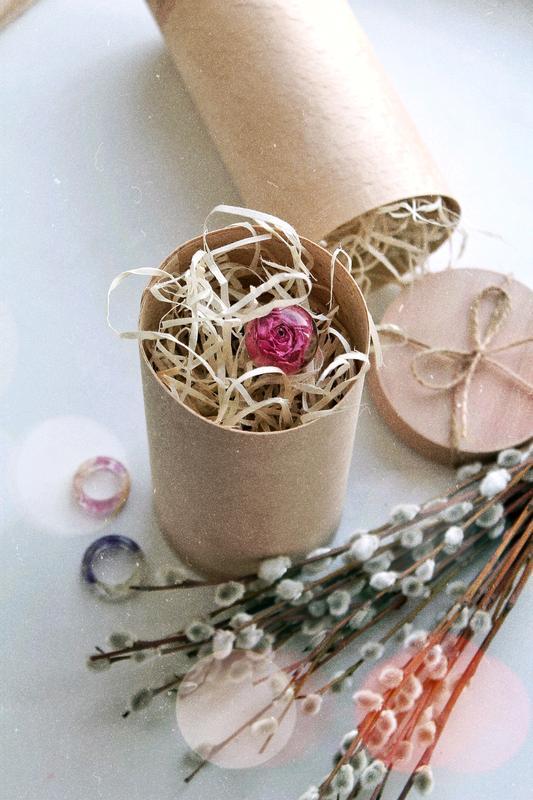Деревянная шпилька Заколка из дерева и смолы Украшение для волос с розовой розой Палочка в пучок