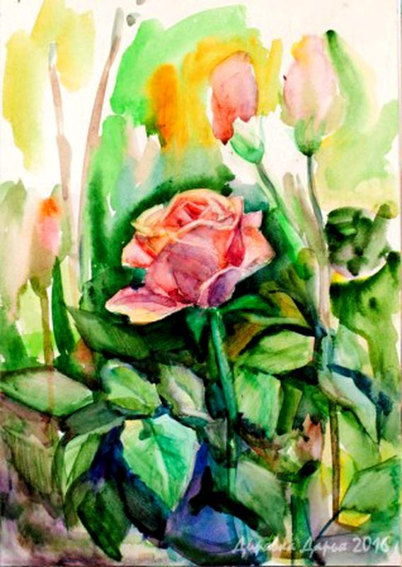 Роза картина Картина цветы Розы живопись Картина с розами Розы картины маслом Картина по фото