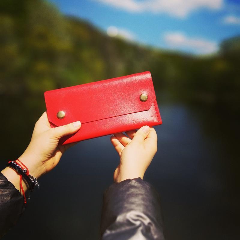 Кожаный клатч - кошелек Standard от mod™, гаманец, портмоне