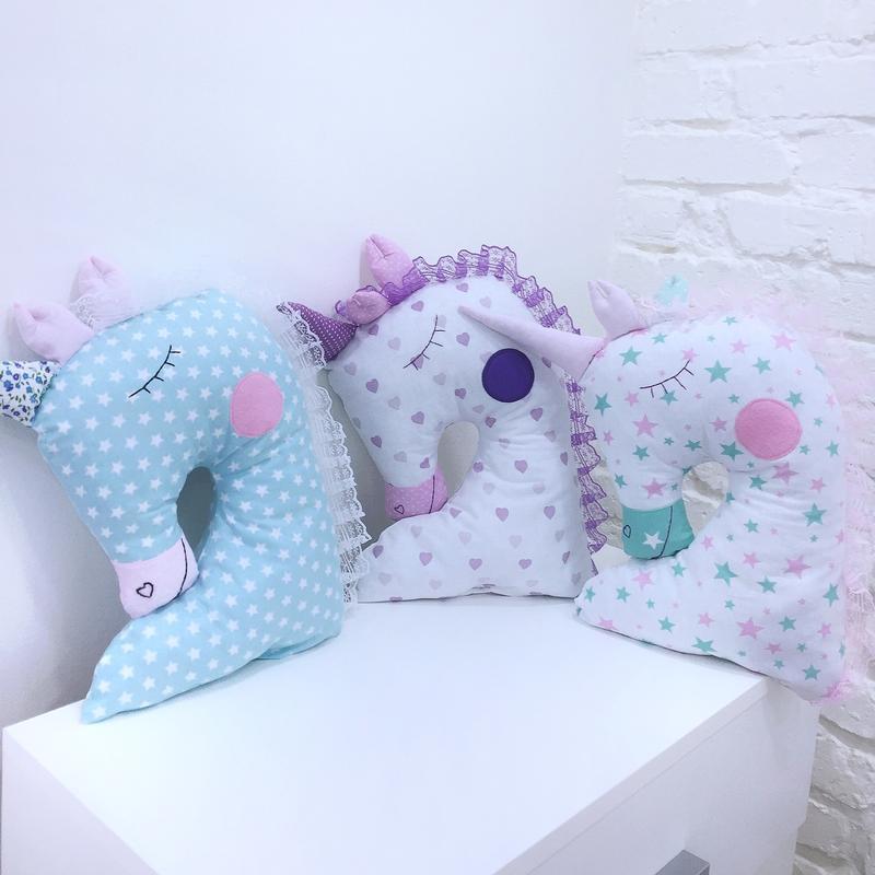 единорог подушка-детская игрушка для сна-подарок для девочки на день рожденья-подарки на Валентина