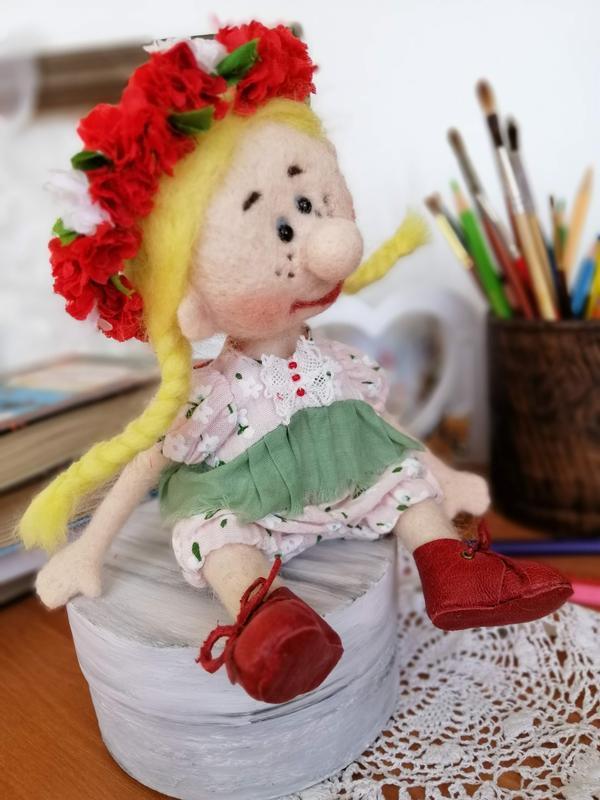 Маруська - куколка хорошего настроения
