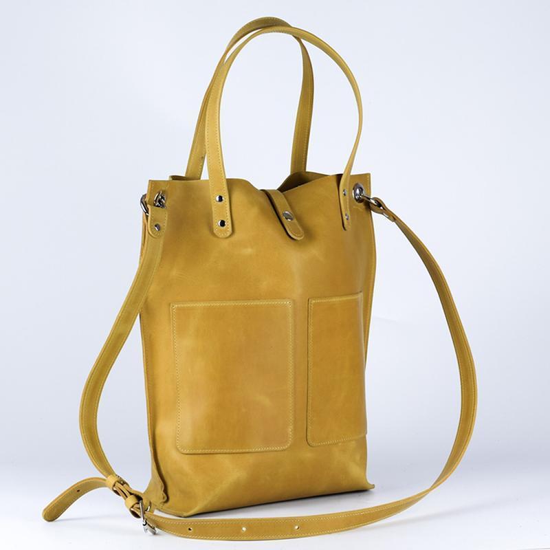 Сумка Тоте, классический шопер, женская вместительная сумка, сумка из натуральной кожи