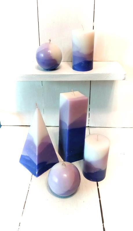 Набор ароматических свечей Лаванда