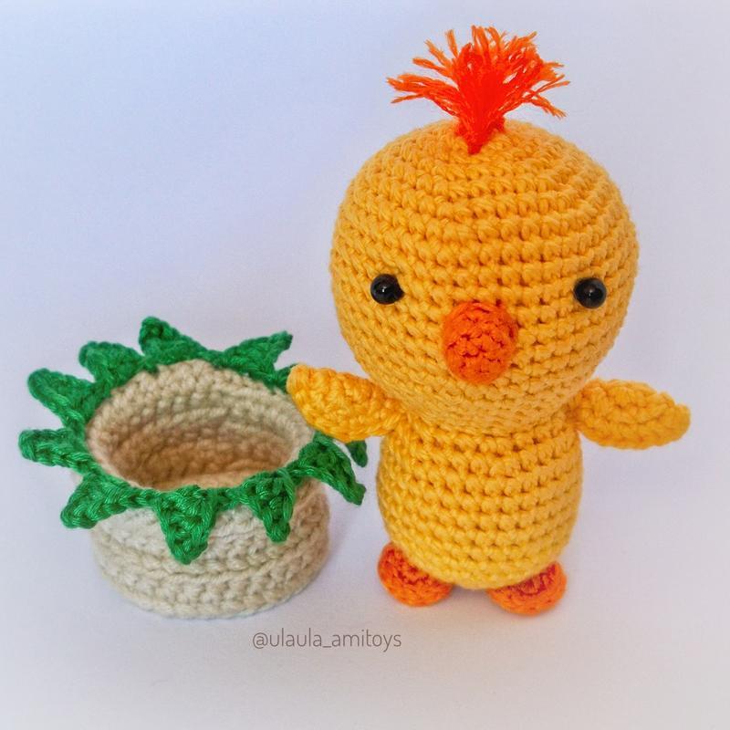 Великодні курчата Пасхальные цыплята