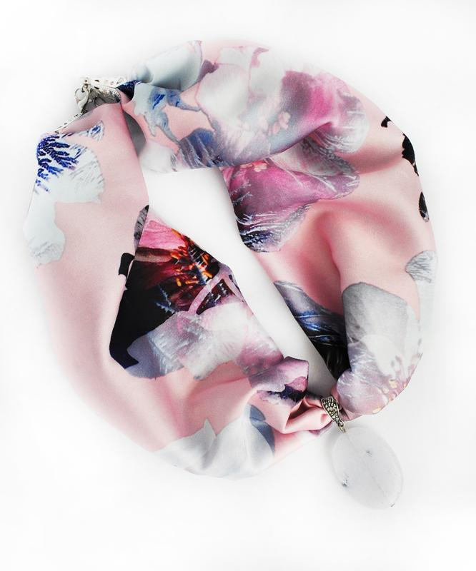 Стильное женское колье My scarf, стильный чокер