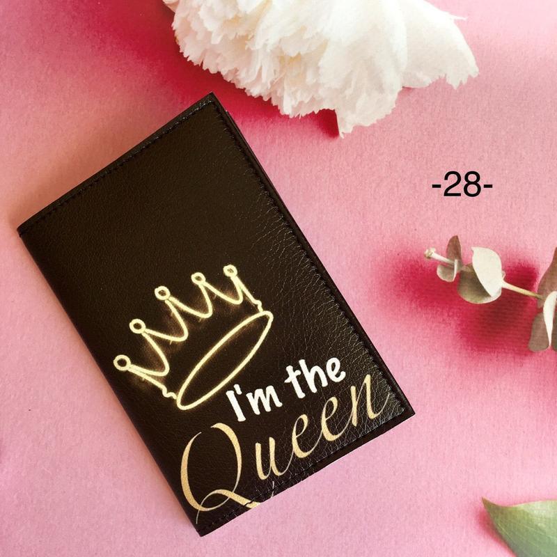 Оригинальная женская обложка Королева