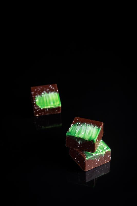 PASTELLA Коллекция (16 шт): шоколадно-ореховая коллекция конфет.