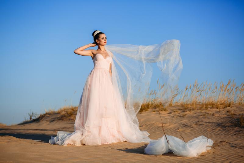 Свадебное платье А-силуэт 01-05