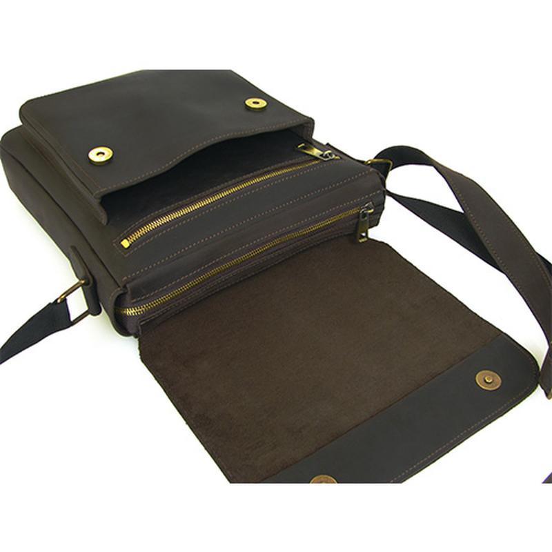 Мужская кожаная сумка , сумка наплечная мужская, повседневные мужские сумки
