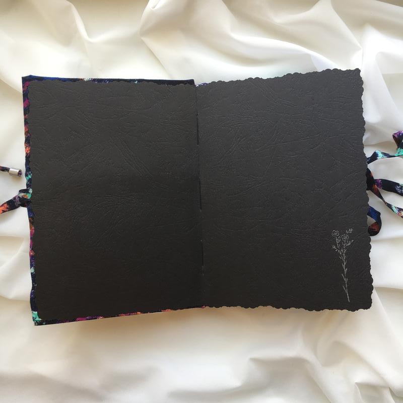 Блокнот с мягкой обложкой
