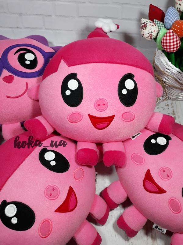 Мягкая игрушка - подушка Малышарики, Крошик, Нюша, Панда, Бараш, Ёжик