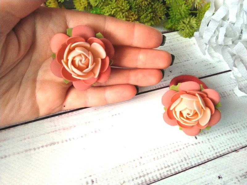 Резинки для косичек, резинки с цветочками