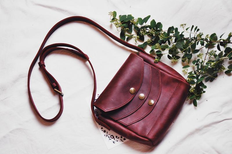 """Кожаная сумочка """"Ханна"""""""