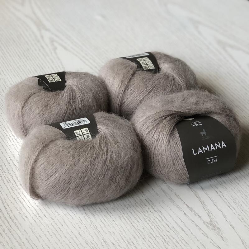 Пряжа альпака Lamana