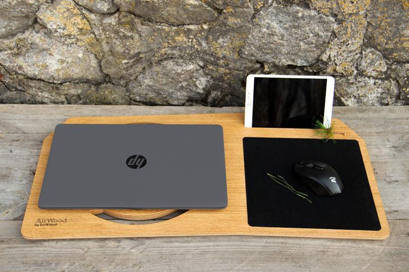 Столик Органайзер Охлаждающая Игровая Подставка Кулер Под Макбук Macbook iPad Ноутбук Для Охлаждения