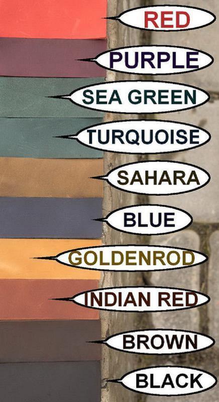 Кожаный кошелек цвета коньяк - мужское портмоне