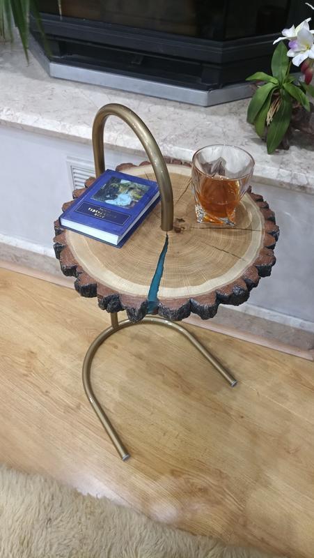 Стол. Столик дуб. Журнальный стол. Дизайнерский столик. Кофейный столик