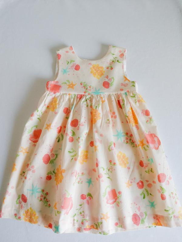 Легкое летнее платье для девочки