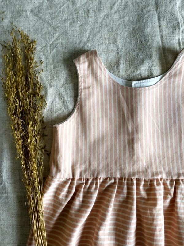 Детская блуза с баской