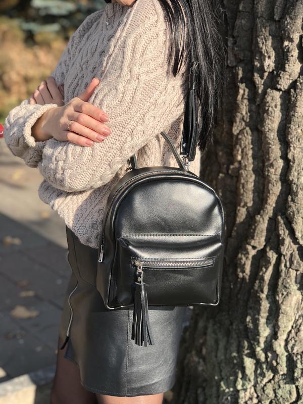 703404e6a9ed Кожаный городской рюкзак ручной работы купить в Украине. №374023