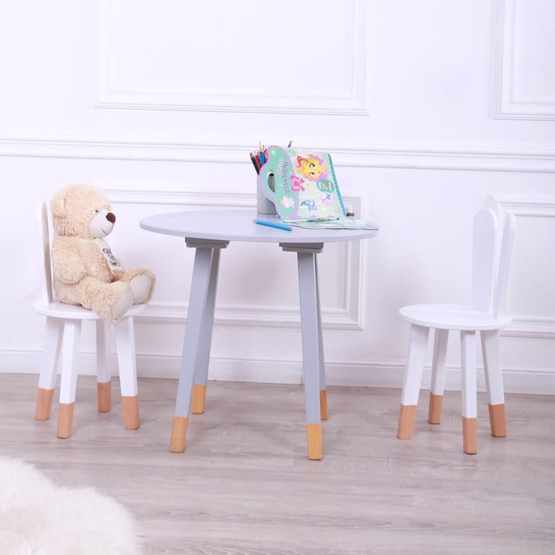 Детский коплект стол и стул от WoodAsFun, деревянный