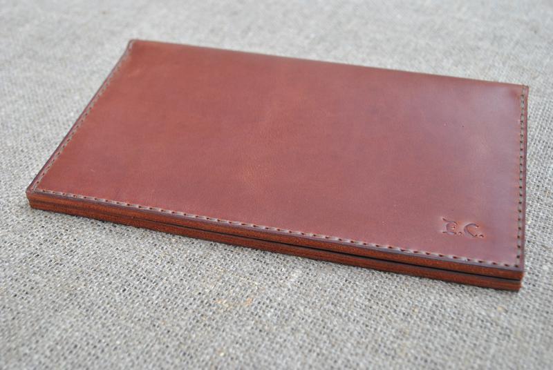 Большой кожаный кошелек K72-210