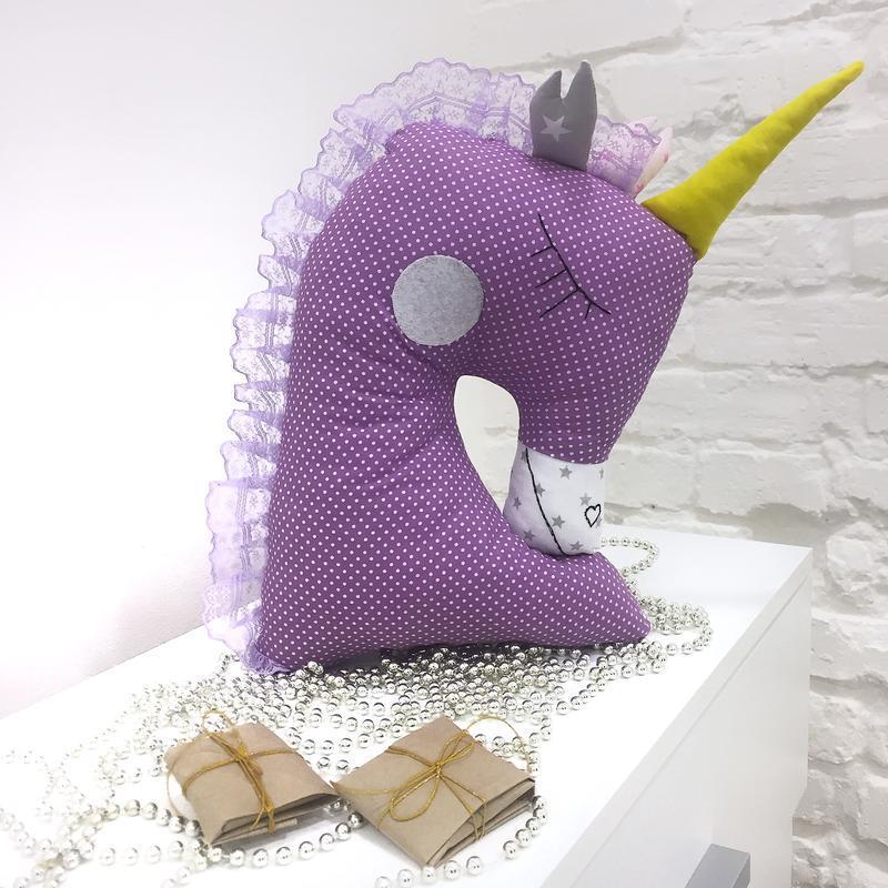 игрушки для сна подушка единорог подарки девочкам декор детскую игрушки для детей подушки зверюшки