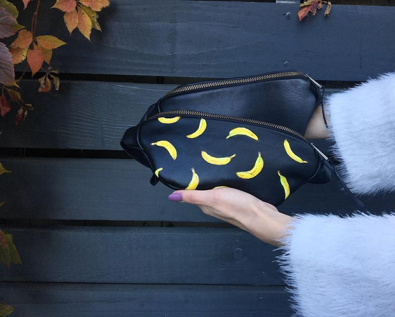 Кожаная Бананка С Бананами