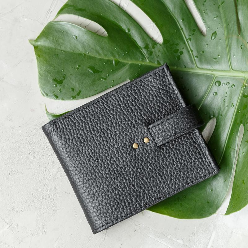 Кожаный кошелек, Кошелек мужской, Женское портмоне