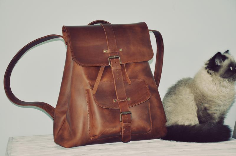Кожаный рюкзак Герберт