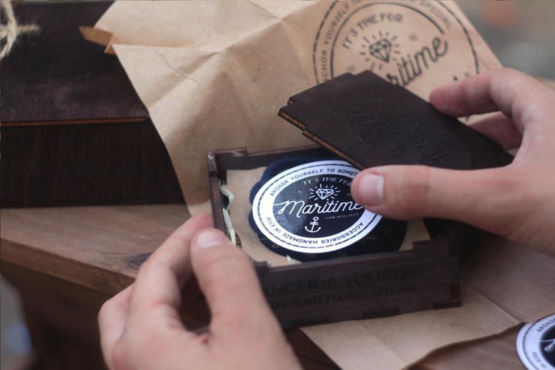 Подарочная Упаковка - Деревянная коробочка ручной работы с лазерной гравировкой