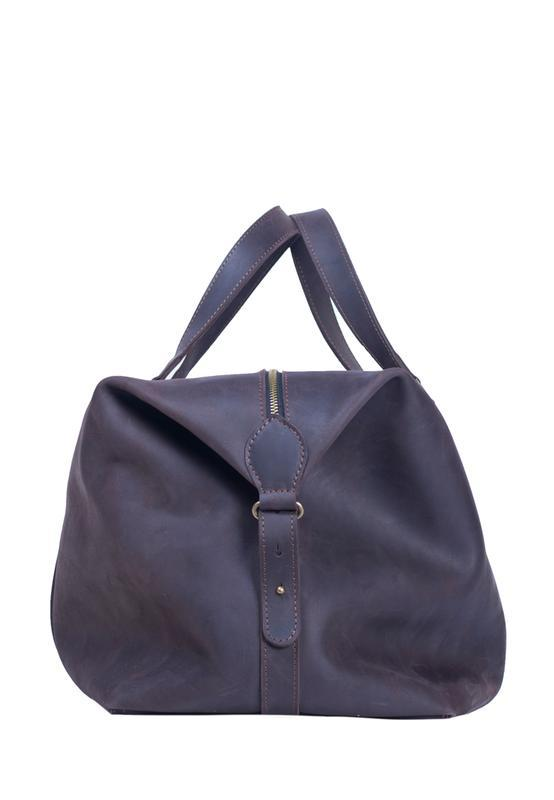 Дорожня сумка. 07021/коричневий
