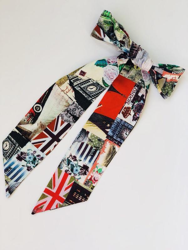 Твилли, шарфик-галстук, шарф-лента
